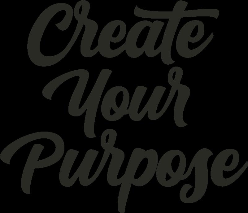 create your purpose logo